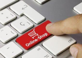 Der Onlineshop ist ein fonds de commerce in Frankreich