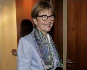 Die Präsidentin der Versammlung im Europarat