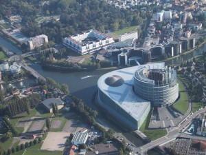 In Strasburg befinden sich wichtige europaische Instituionen
