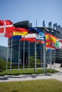 Das Europaparlament sitzt in Strasbourg