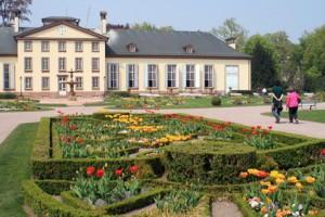 Pavillon Josephine im Orangerie-Park von Strassburg