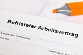 Befristeter Arbeitsvertrag im Vergleich in Frankreich und Deutschland