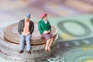 Rentner und Finanzen