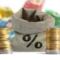 Prozent und Geld