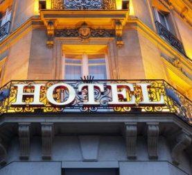 Hotel und Schliessung
