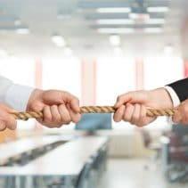 Streit im Unternehmen