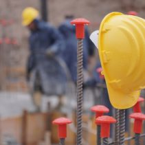 Unfall auf der Baustelle