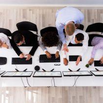 IT-Berater geht zum Wettbewerb