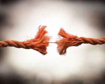 Bruch einer Geschäftsbeziehung